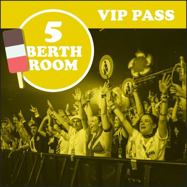 Tidy 25 summer weekender VIP Pass
